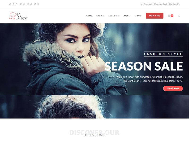 Công ty thiết kế website cửa hàng thời trang