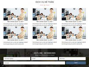 Thiết kế website dịch vụ
