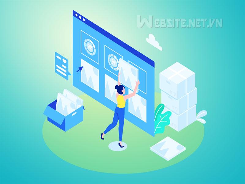 Hướng dẫn quản trị website dịch vụ