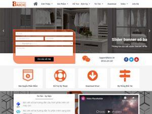 Thiết kế website dịch vụ chuẩn SEO