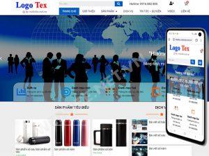 Mẫu website doanh nghiệp số3