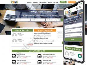 Thiết kế website tuyển dụng